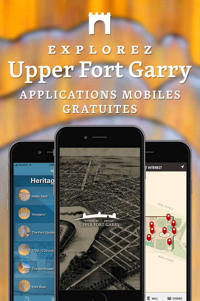 Explorez Upper Fort Garry Applications Mobiles Gratuites