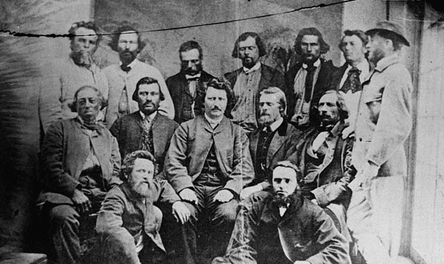 Councillors of the Provisional Government of the Métis Nation